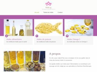 Guides sur les huiles bonnes pour la santé