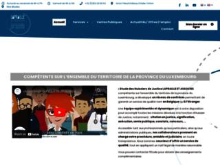 Huissiers de justice de la province du Luxembourg