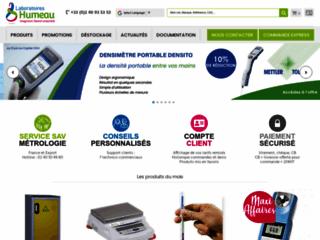 Humeau.com : les laboratoires Humeau, distributeur de produits de laboratoires en France