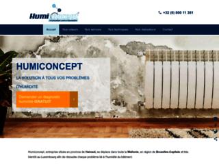 Détails : Humiconcept - Entreprise spécialisée en traitement anti-humidité