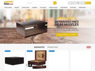 Humidor-Station et ses accessoires cigares