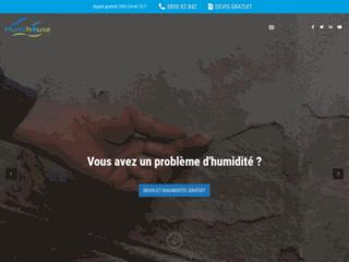 Détails : HUMIHOUSE : traitement de l'humidité en Belgique et au Luxembourg