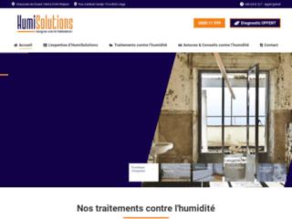 Détails : HUMISOLUTIONS : des solutions contre l'humidité