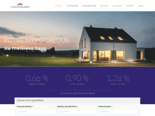 Hypotheque24, crédits immobiliers