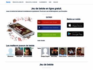 Détails : Ibelote, jeu de belote en ligne