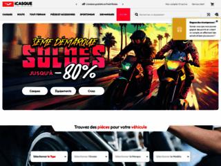 Détails : iCasque, votre équipement moto à petit prix
