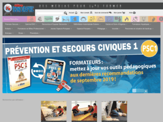 Détails : Iconegraphic.com, boutique de vente de livres de secourisme