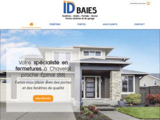 ID BAIES à Chavelot pour la rénovation de vos fermetures