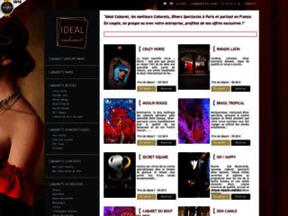 Détails : Idéal Cabaret : réservation de cabaret Paris
