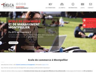 Détails : IDELCA Business School Une école de commerce différente à Montpellier