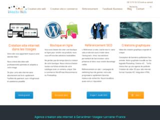 Identité Web Lorraine : création site internet dans les Vosges