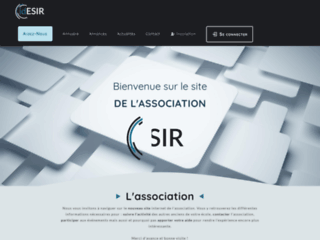 Association IDESIR - Ingénieurs du DIIC et de l'ESIR