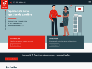 Détails : Bilan de compétences La Rochelle (17) IF Coaching