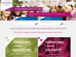 Iffeurope - Formation Humanitaire & Orientation