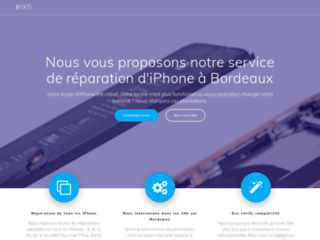 Réparation de portable iPhone