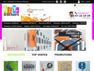 Ilyastickers, site de vente en ligne de déco murale