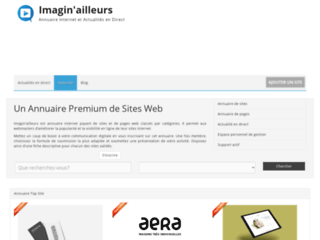 Annuaire de sites et de pages internet