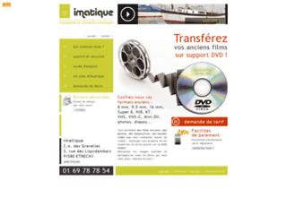 Détails : Imatique (Conversion Bobines/Cassettes en DVD)