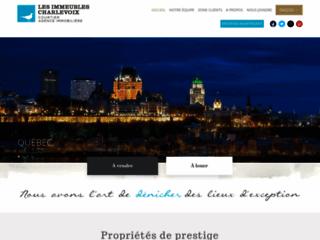 Détails : Imcha, les Immeubles Charlevoix