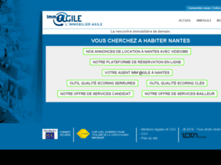 Immagile Nantes: site immobilier entre  particuliers