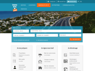 Détails : Immo974.com guide immobilier La Réunion
