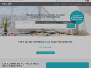 Agence immobilière Angerville
