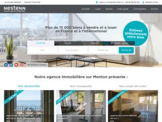 Agence immobilière Menton