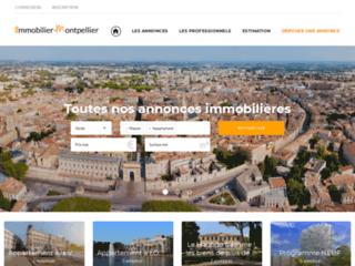 Immobilier Montpellier, Tout l'immobilier sur Montpellier