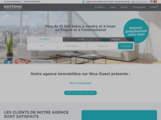 Agence immobilière Nice Ouest