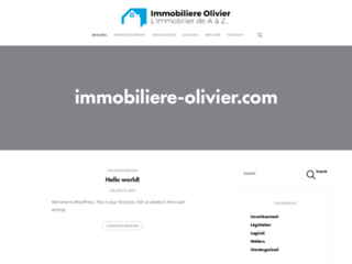 Immobiliere Olivier