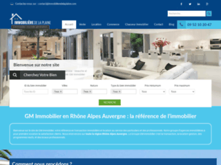 Détails : Agence immobilière de la plaine, l'immobilier nouvelle génération