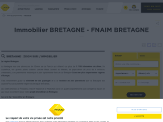 Détails : Immobilier Bretagne avec la Fnaim