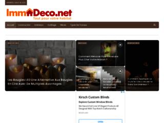 Immodeco.net : Pour la décoration de votre habitat