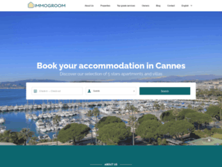 Immogroom, Location Airbnb à Cannes