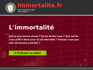 Devenir Immortel