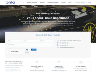 Détails : Imprimerie ORTA : le spécialiste de l'imprimerie à Avignon
