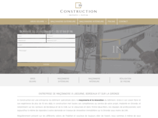 Détails : IN-Construction, votre entreprise de construction