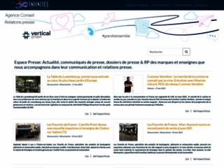 Détails : Infinités Communication (Relations Presse)