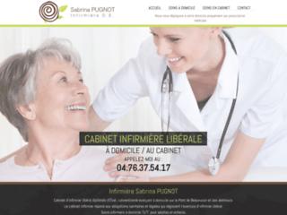 Détails : Sabrina Pugnot, infirmière à Pont-de-Beauvoisin