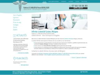www.infirmiers-lecarluer-devilleger.fr