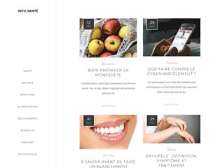 Info Santé, le magazine du bien-être