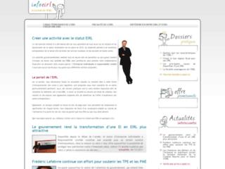 Détails : Informations sur l'EIRL