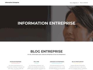 Site d'information des entreprises