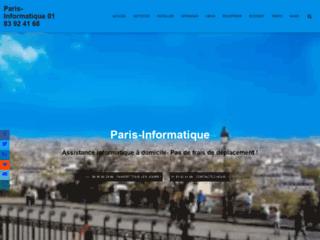 Détails : Dépannage informatique Assistance sur PC à domicile Paris