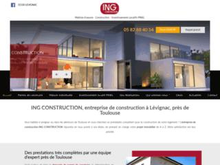 Détails : ING CONSTRUCTION, entreprise de construction à Lévignac, près de Toulouse
