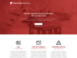 InspecteurImmobilier.com pour trouver un inspecteur en bâtiment
