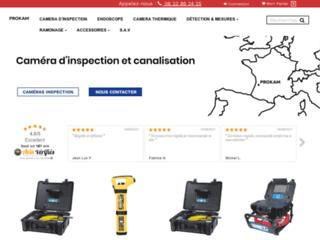 Détails : Caméra d'inspection video