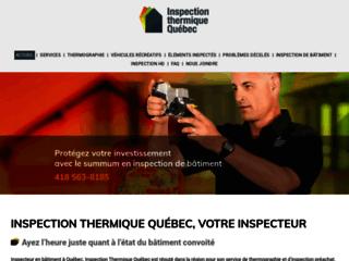 Inspection Thermique Québec - Inspecteur en Bâtiment