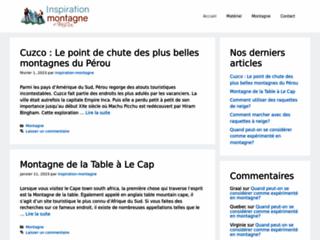 Détails : Inspiration Montagne