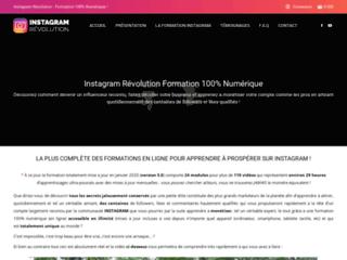 Formation numérique instagram révolution